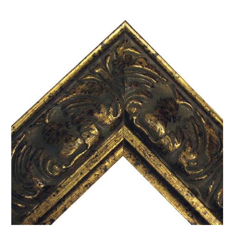 Baroque Reverse Gold Frame