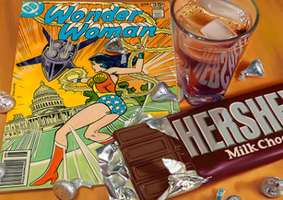 DB205R20 - Wonder Woman and Hershey's