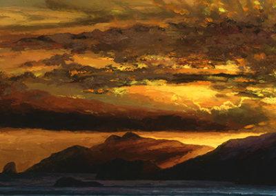 HB113R30 - Sunset Over Capri