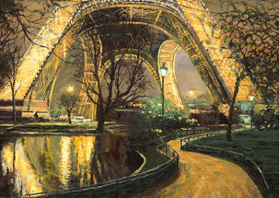 HB114R30 - Twilight at the Eiffel Tower