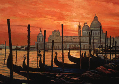 HB116R30 - Sunset on the Grand Canal II
