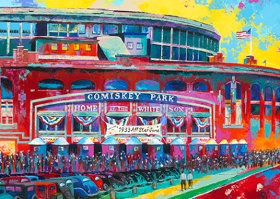 LP114R15 - Comiskey Park by Al Sorenson