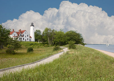 MN128R10 - Port Iroquois Lighthouse