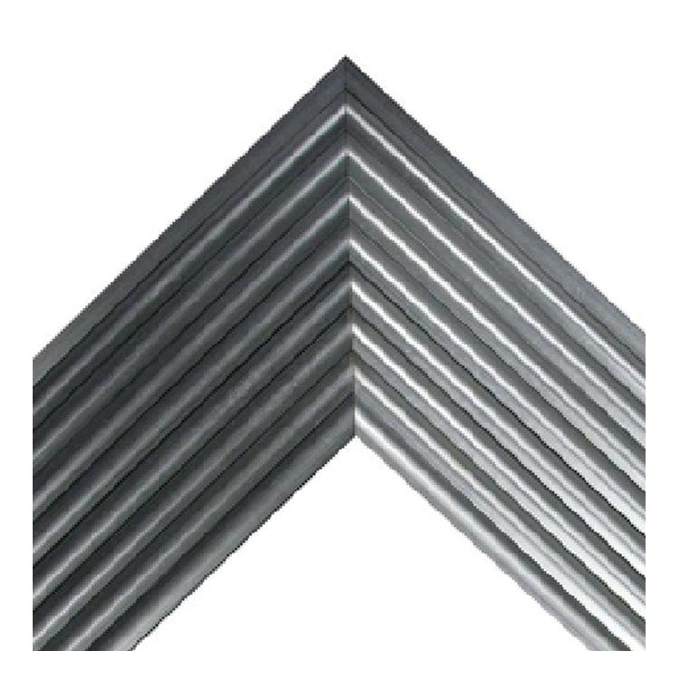 Metropia Silver Fluted Frame