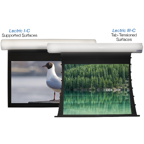 Lectric I-C & III-C – COMMERCIAL Motorized Screens