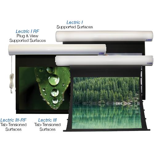 Lectric I, I RF, III, III RF – RESIDENTIAL Electric Screens