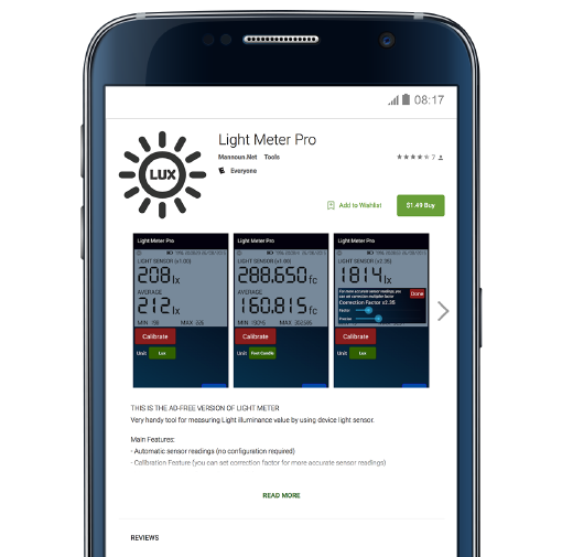 Light Meter App