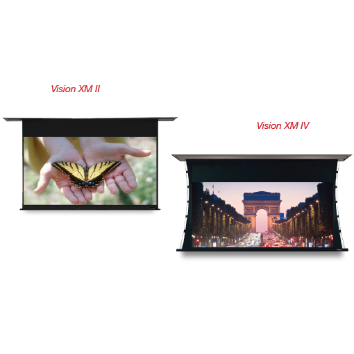 Vision-X M II & Vision-X M IV Horizontal Masking Projection Screens