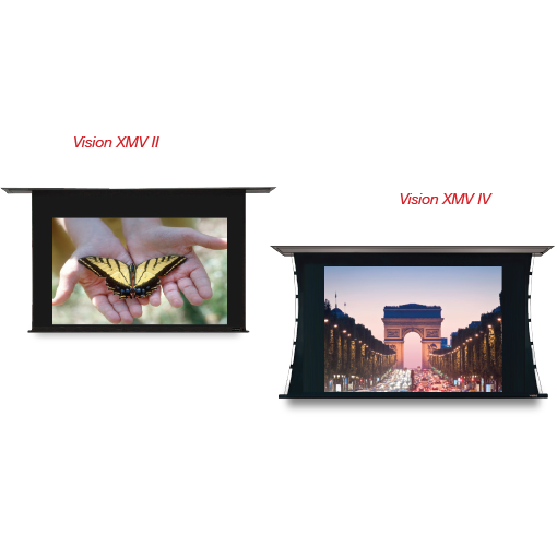 Vision-X MV II & Vision-X MV IV Vertical Masking Projection Screens