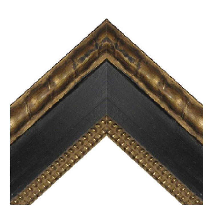 Artigana Black Beads with Braid Frame