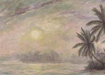 CM411R30 - Water & Palms