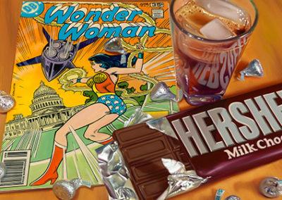 DB205R20 - Wonder Woman and Hershey's