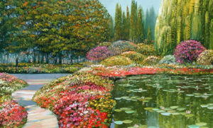 HB107R30 The Colors of Giverny