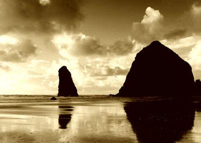 MN102R10 - Canon Beach Reflections