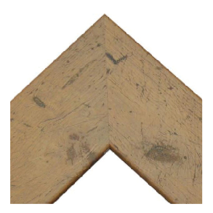 Light Walnut Rustic Pine Frame