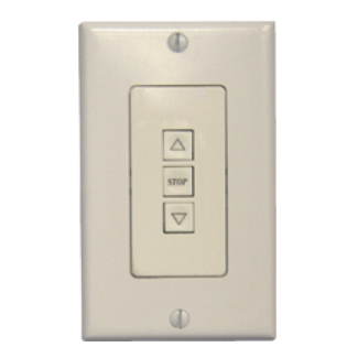 Decora Low Voltage Three Button Wall Switch – White-DLVSW