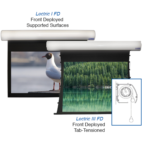 Lectric I FD & III FD – RESIDENTIAL Front Deployed Motorized Screens