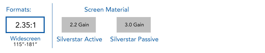 Silverstar format Curve