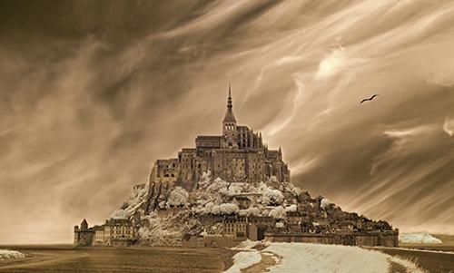 MN022R10 Mont St Michel