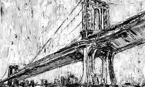 WAEH006R200 Iconic Suspension Bridge I
