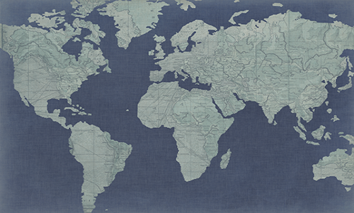 WASW003R200 Linen Map II