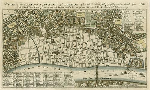 WAUN002R200 City Plan of London
