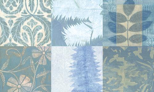 WAVS007R200 Blue Textures I