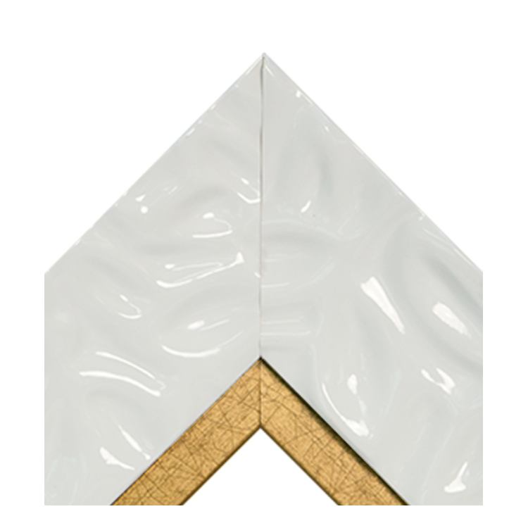 Calm Waters White Antique Gold