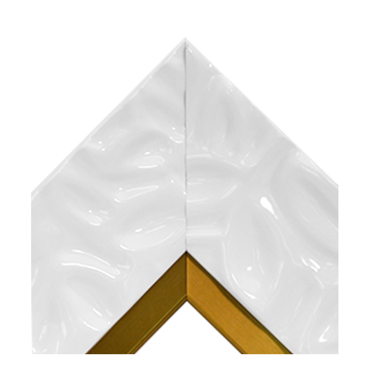 Calm Waters White Brass