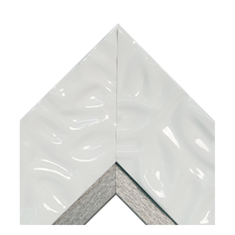 Calm Waters White Platinum Textured