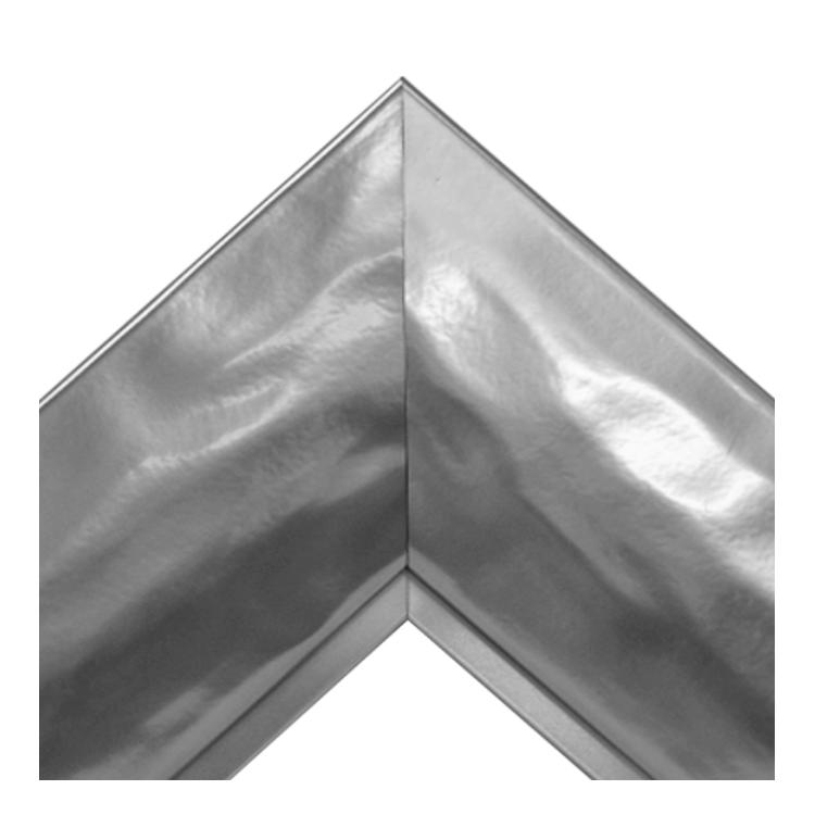 Silver Chrome Mirror