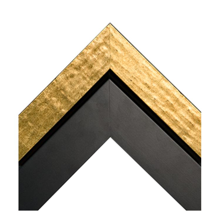 Antique Metallic Gold-Dimensional Matte Black