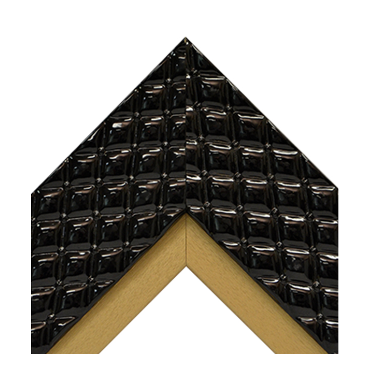 Chesterfield Black Gold Textured