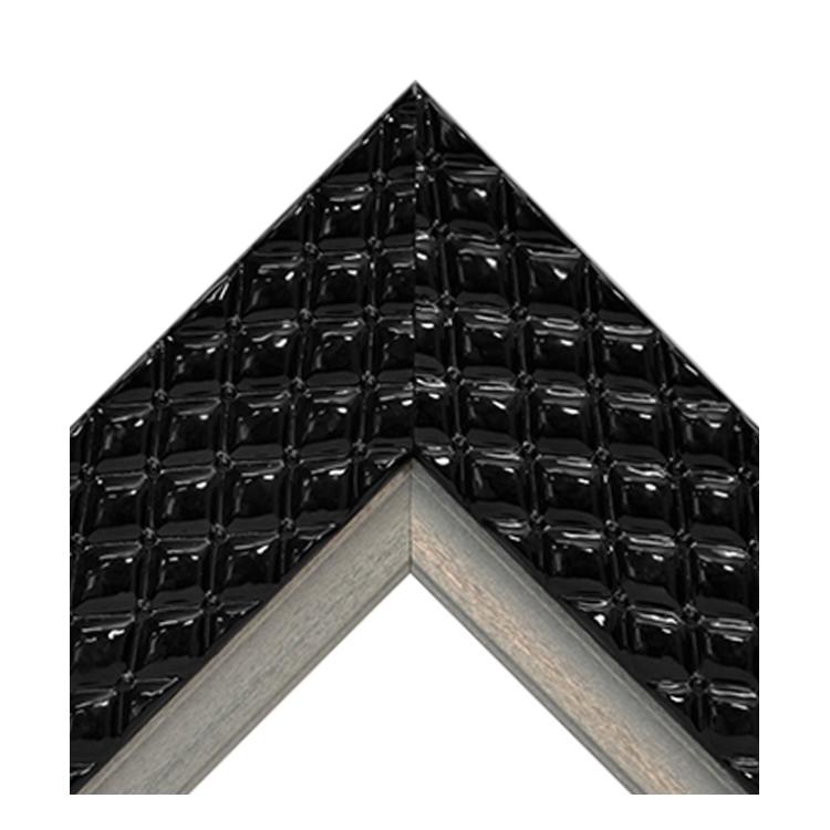 Chesterfield Black Platinum Crown Textured
