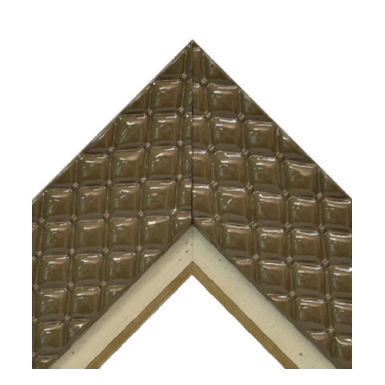 Chesterfield Cocoa Distressed Cream Gold