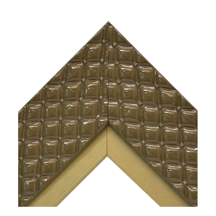 Chesterfield Cocoa Metallic Gold