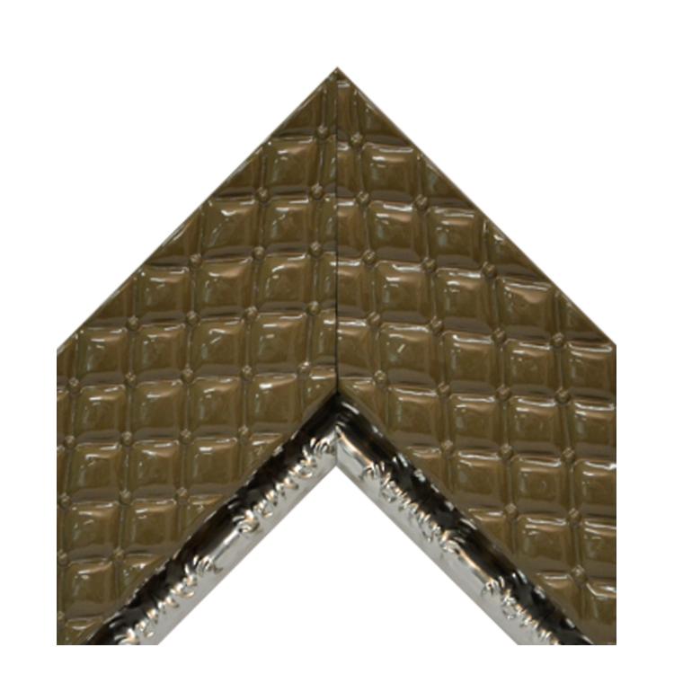 Chesterfield Cocoa Metallic Silver