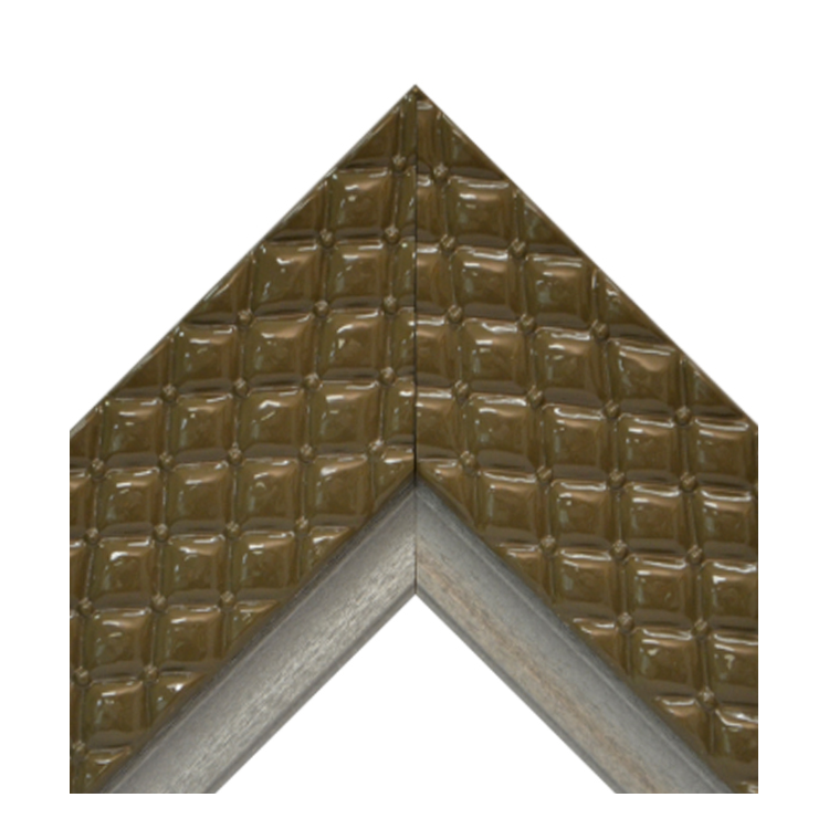 Chesterfield Cocoa Platinum Crown Textured