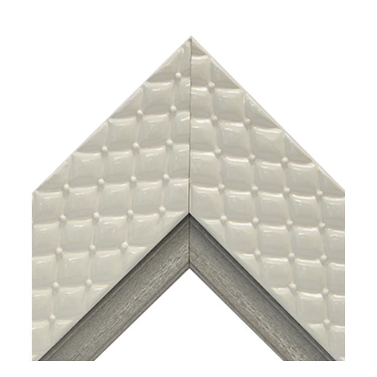 Chesterfield White Platinum Crown Textured