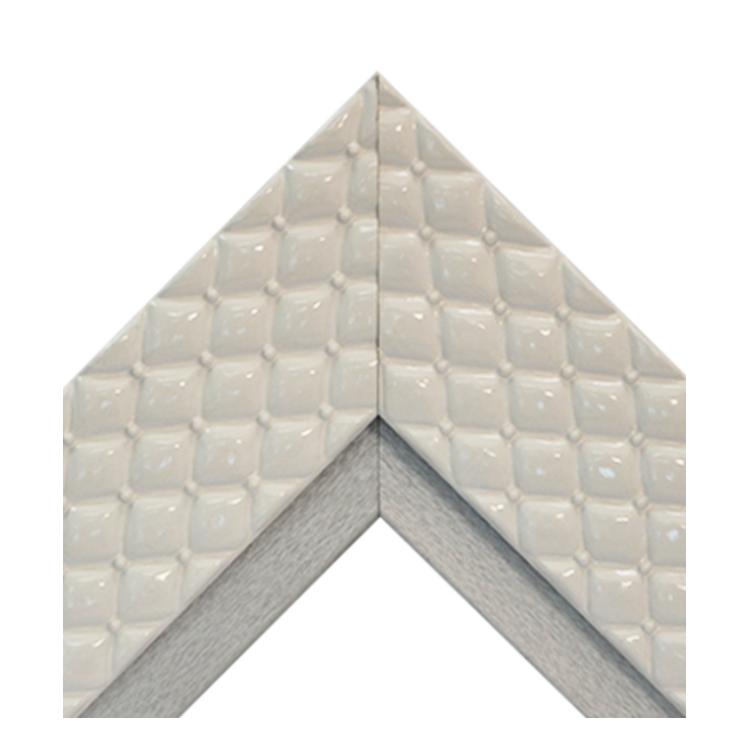 Chesterfield White Platinum Textured