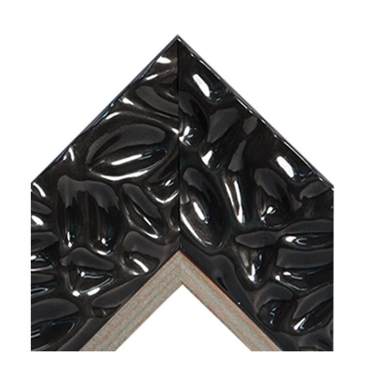 Calm Waters Black Distressed Wood