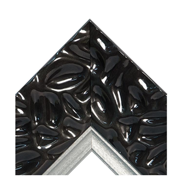 Calm Waters Black Platinum Crown Textured