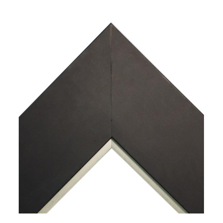 Matte Flat Black Silver