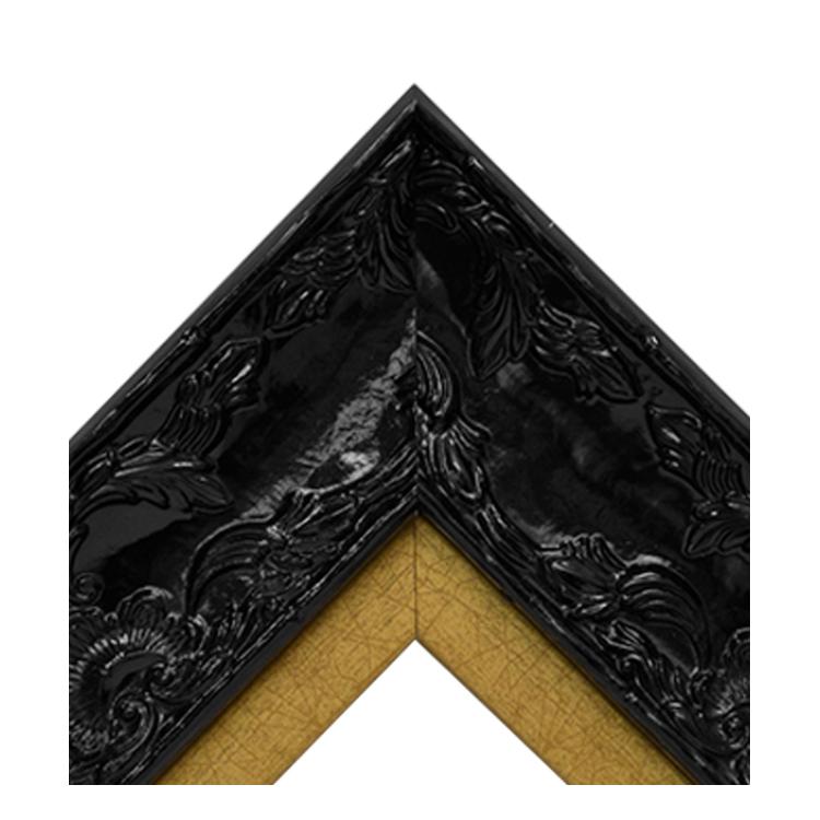 Renaissance Black Gloss-Antique Gold