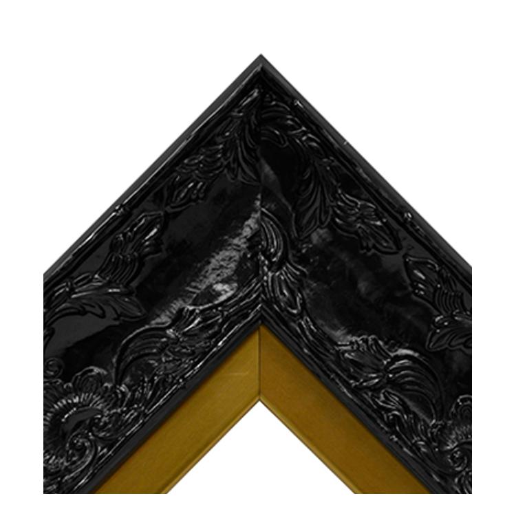 Renaissance Black Gloss-Brass