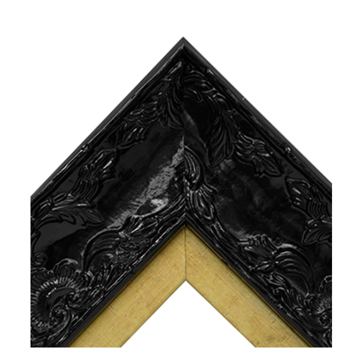 Renaissance Black Gloss-Guilded Gold