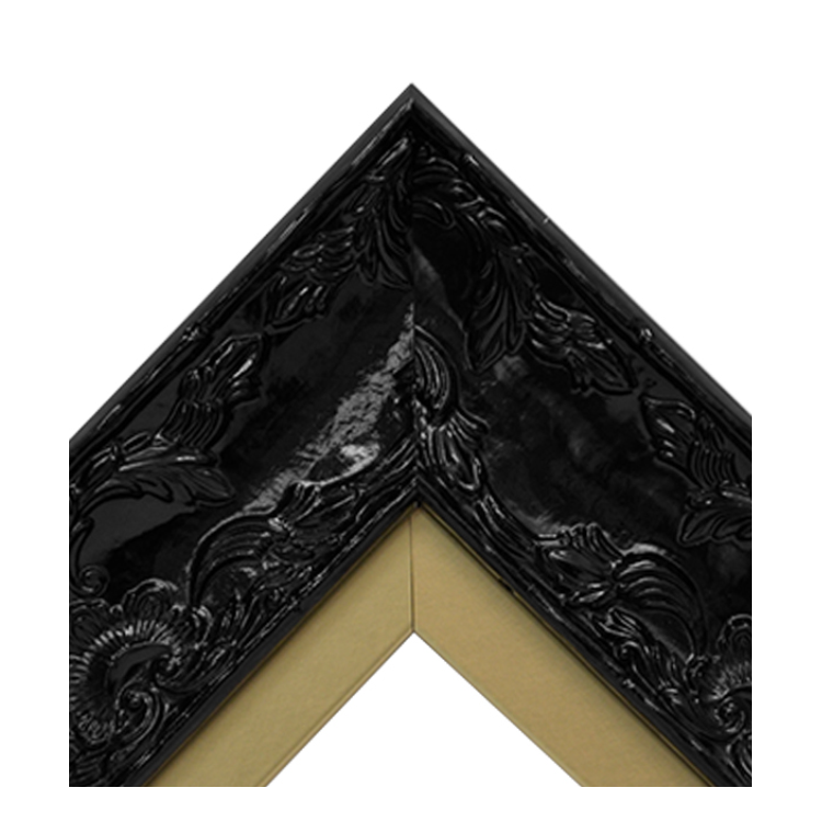 Renaissance Black Gloss-Metallic Gold