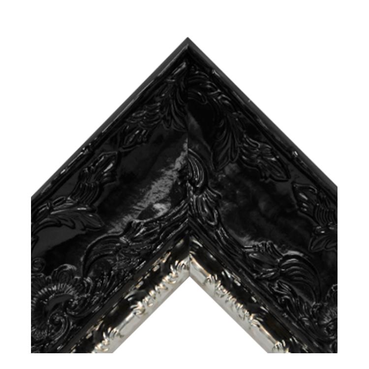 Renaissance Black Gloss-Metallic Silver