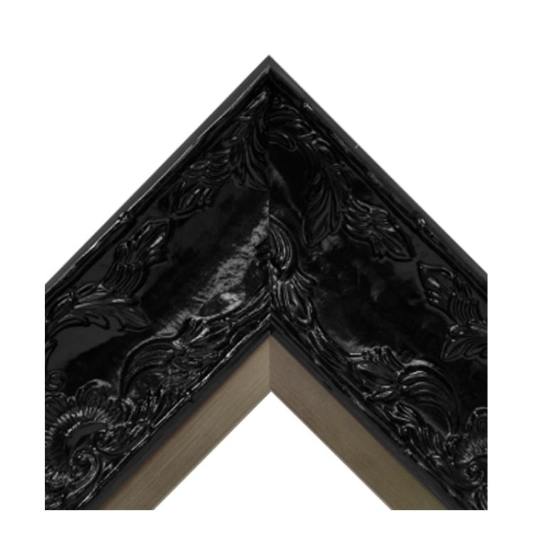Renaissance Black Gloss-Pewter