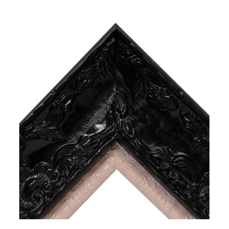 Renaissance Black Gloss-Shiny Pink